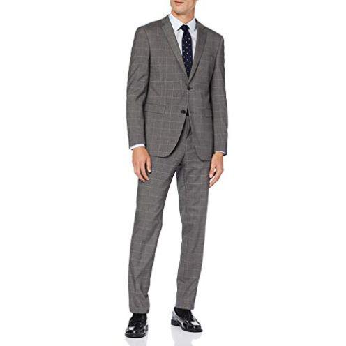 Esprit Collection Herren Anzug Grey 030