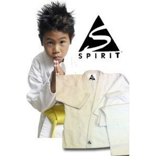 Spirit Karate 9oz 100% Baumwolle weiß Karate Uniform