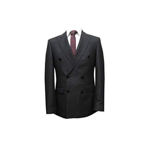 MMUGA Zweireiher Herrenanzug Slim Fit Gentlemen Anzug