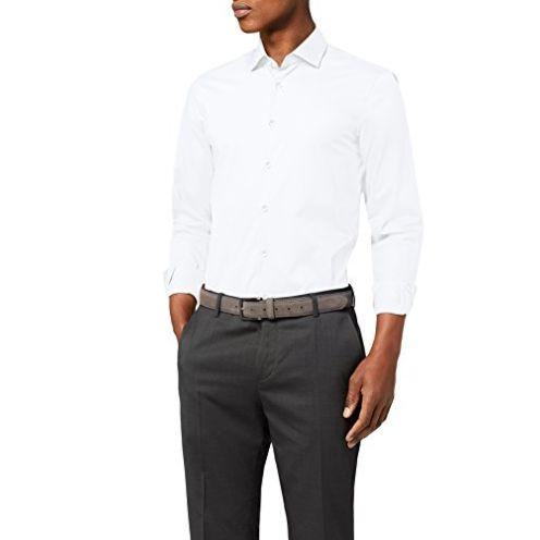 Tommy Hilfiger Herren Core Stretch Poplin Slim Shirt Businesshemd