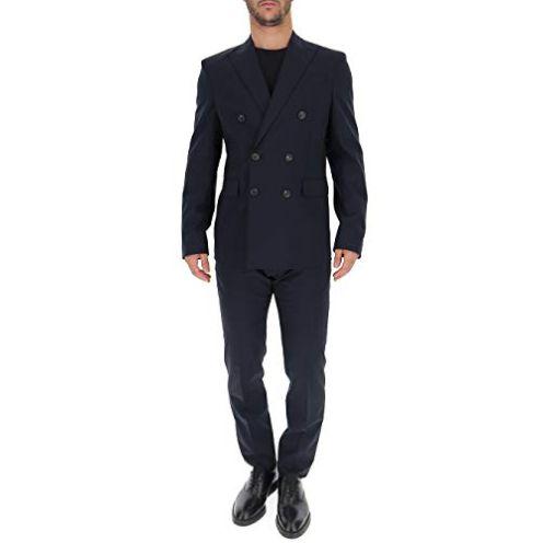 Dsquared2 S74FT0360S40320524 Herren Blau Wolle Anzug