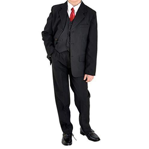 familientrends Konfirmationsanzug Uni schwarz