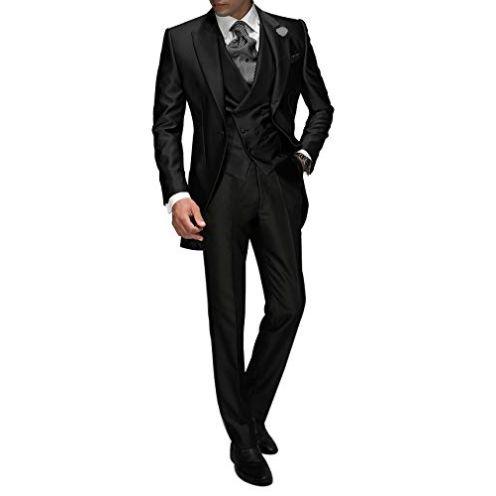 Suit Me Tailored Herren 3-Teilig Anzug