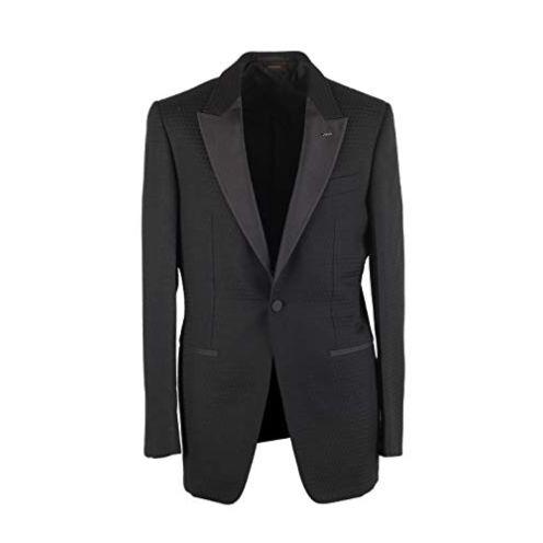 Zegna CL - Ermenegildo Couture Black Sport Coat Sakko