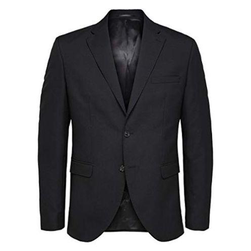 Selected Homme Herren Slhslim-mylohigh Black BLZ B Noos Blazer