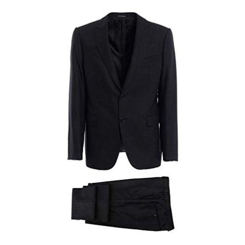 Armani 11VMGB11606632 Grau Wolle Anzug