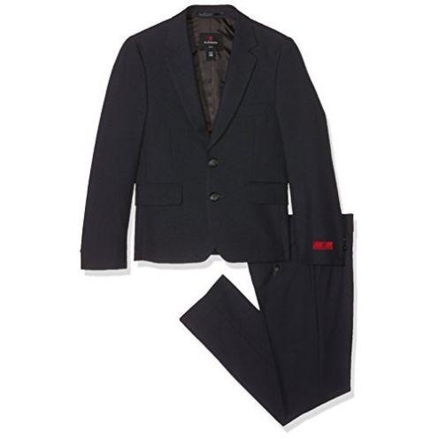 Lemmi Jungen Slim Anzug Grau