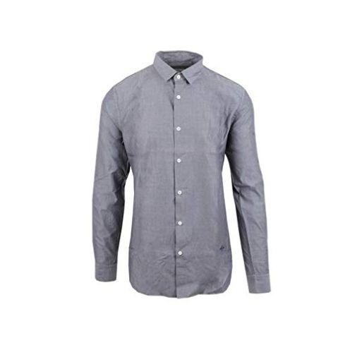 Cerruti Freizeithemd Camicia Grau