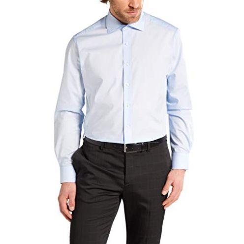 eterna Langarm Hemd Modern Fit Popeline