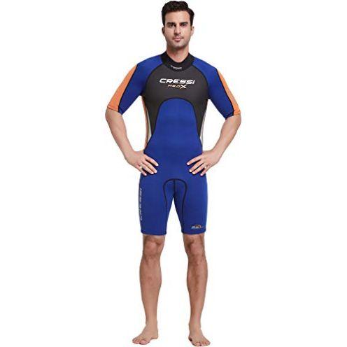 Cressi Med X Men's Short Wetsuit Premium