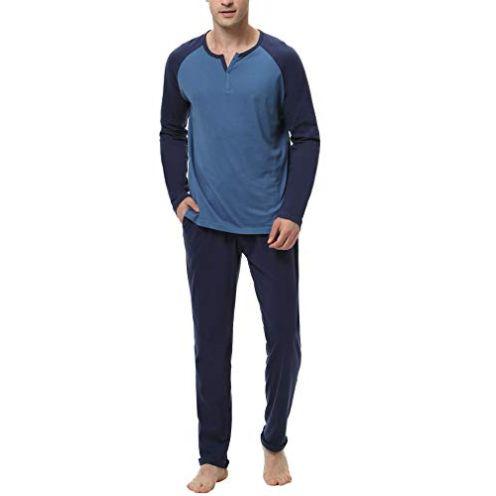 Hawiton Herren Schlafanzug
