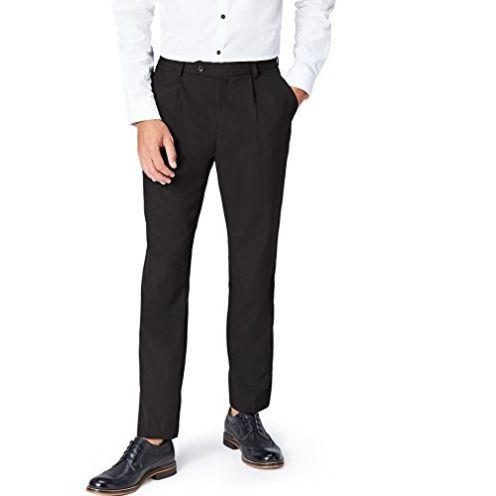 find Herren normale Passform Anzughose