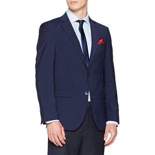 Bugatti Herren Sakko Anzugjacke Blau