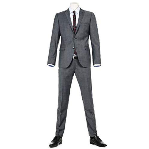 Benvenuto Purple - Slim Fit - Herren Baukasten Sakko Adon (20776, Modell: 61350)