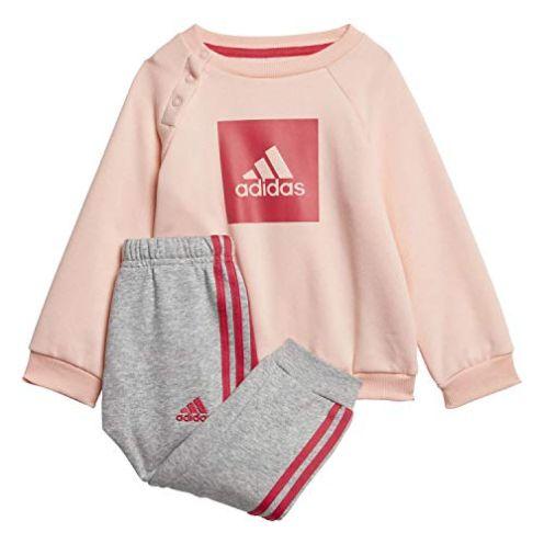 adidas Unisex Kinder 3-Streifen Logo Trainingsanzug