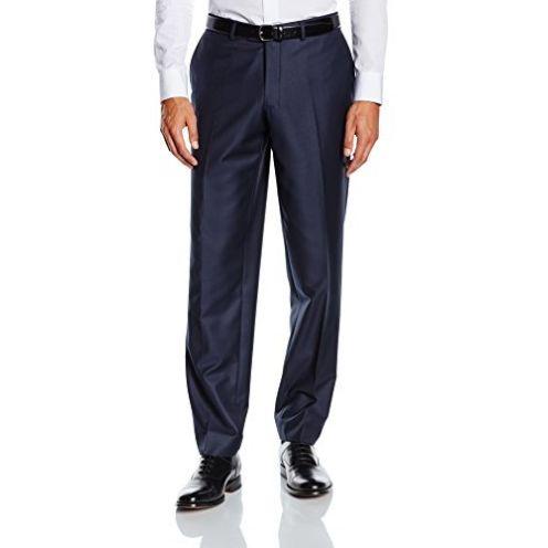 BlueBlack Herren Slim Fit Anzughose Baukasten Lorenzo