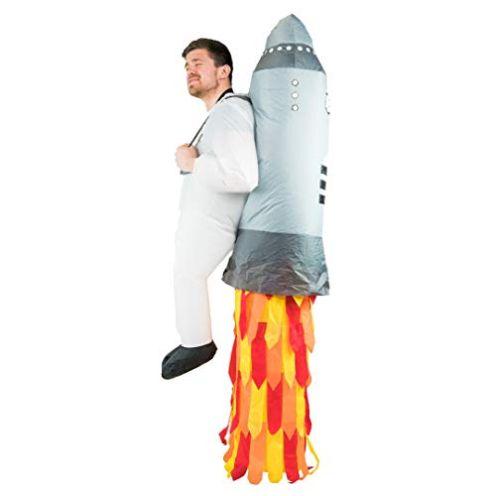 Bodysocks Aufblasbares Jetpack Kostüm