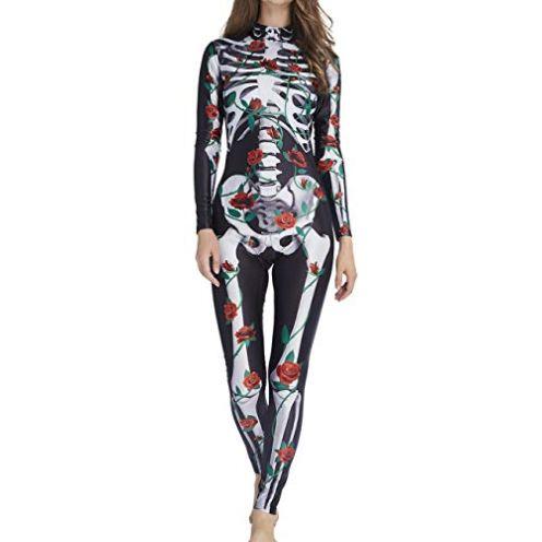 "AIDEAONE Halloween Kostüm ""Skelett"""