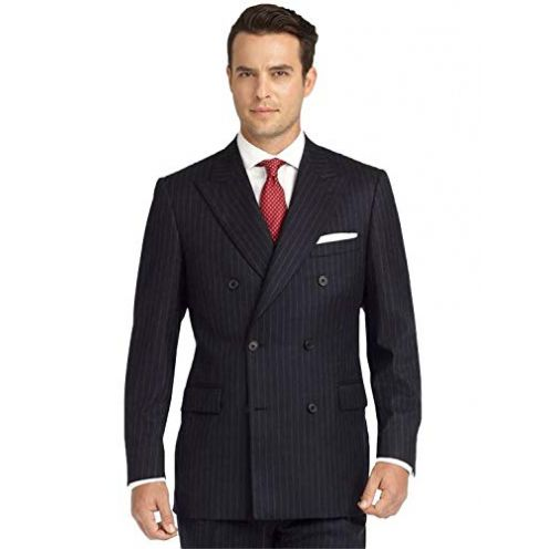 P&G Herren Anzug Peak Revers Slim Fit Zweireiher