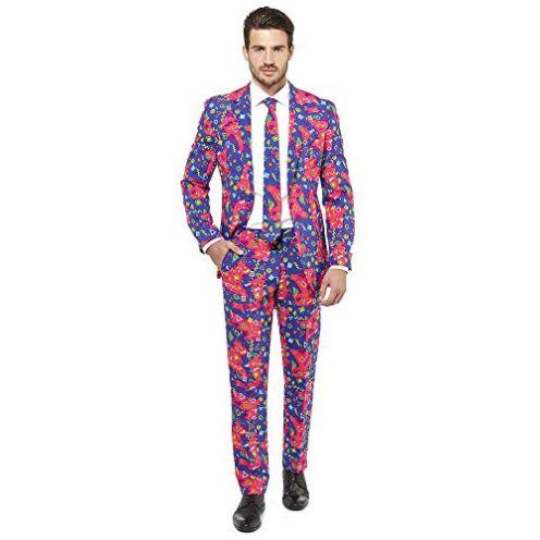OppoSuits Herren Crazy Prom Suits for Men Anzug
