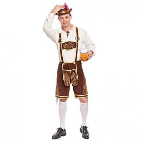 Spooktacular Creations Herren Bayerisches Oktoberfest Kostüm Set
