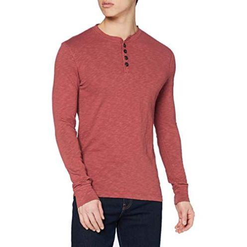 Superdry Herren Legacy LS Henley Shirt