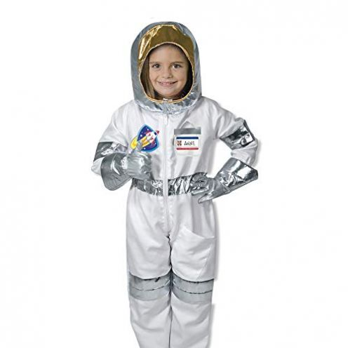 Melissa & Doug 18503 Astronaut Rollenspiel-Kostüm-Set