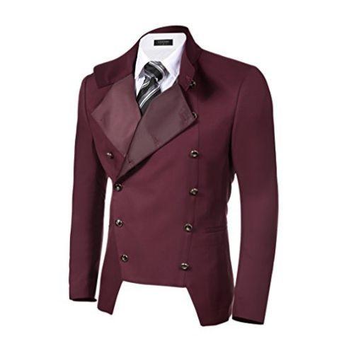 Coofandy Anzugjacke Viktorianischer Stil