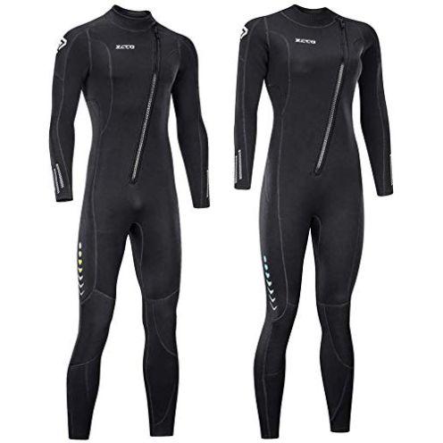 ZCCO Unisex Ultra Stretch Full Body Wetsuit