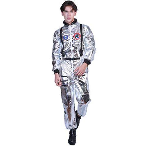 EraSpooky Herren Astronaut Kostüm Weltall