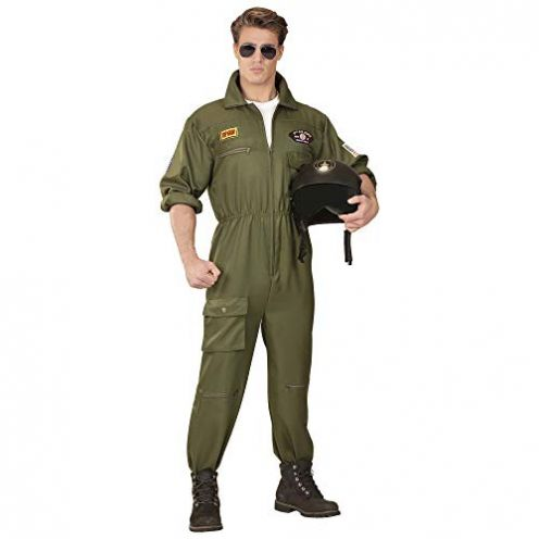 Widmann Herrenkostüm Kampfjet und Pilot