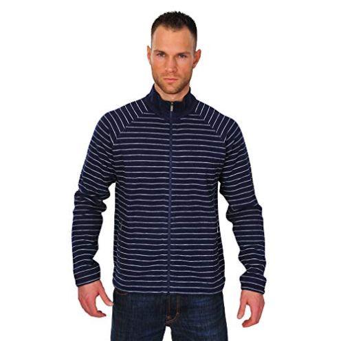 Zegna Sport Jacke Herren Blau Weiß