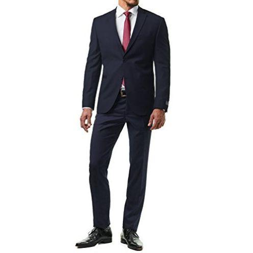 Paco Romano Herren Anzug Blau 67713