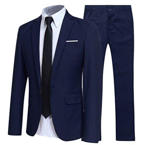 Allthemen Anzug Herren Anzüge Slim FitAllthemen Anzug Herren Anzüge Slim Fit