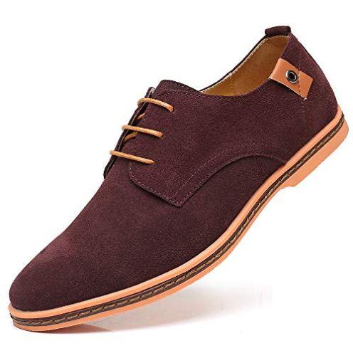 CAGAYA Herren Freizeit Schuhe aus Leder