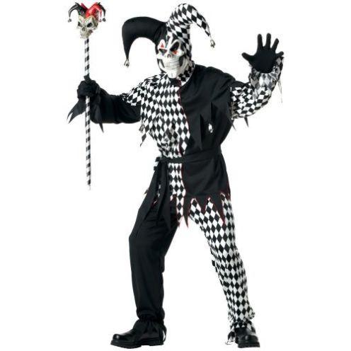California Costumes Evil Jester Kostüm