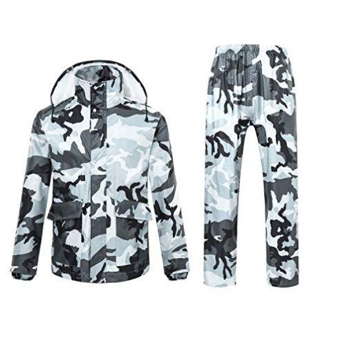 7VSTOHS Herren Damen Camouflage Anzug
