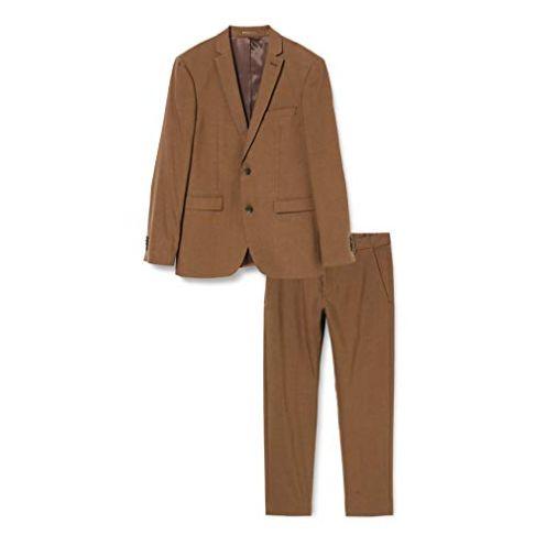 Esprit Collection Herren Anzug im Slim Fit