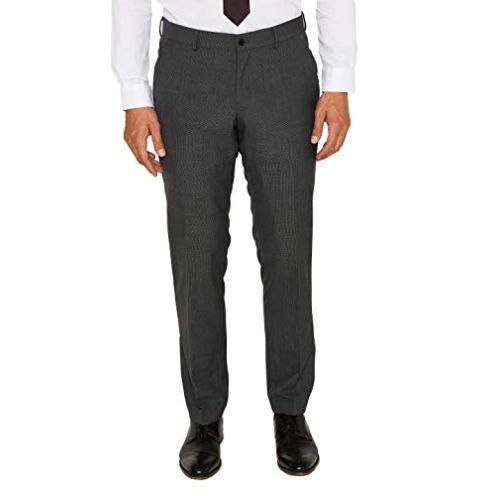Esprit Collection Herren Anzughose Dark Grey 5 024