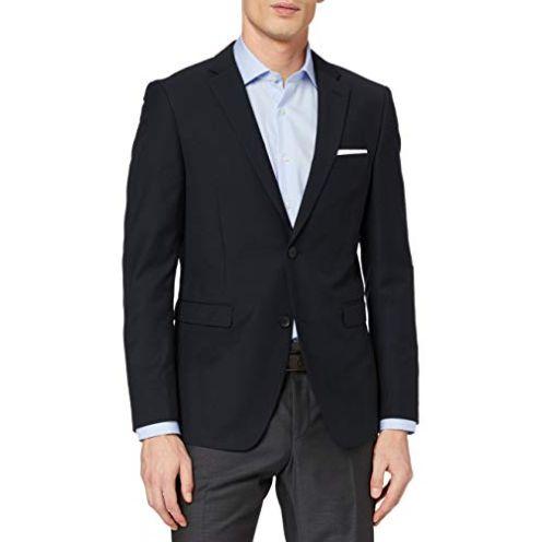 Esprit Collection Herren Anzugjacke Navy Blue