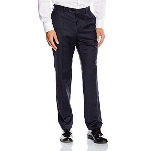 Roy Robson Herren Anzughose Shape Fit Blau 18